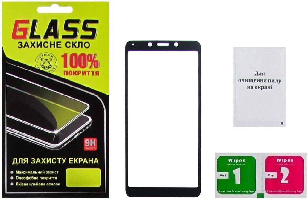 Купить Аксесуари для мобільних телефонів, Захисне скло Masterclub for Xiaomi Redmi 6 / 6A - Full Glue Black (16078)