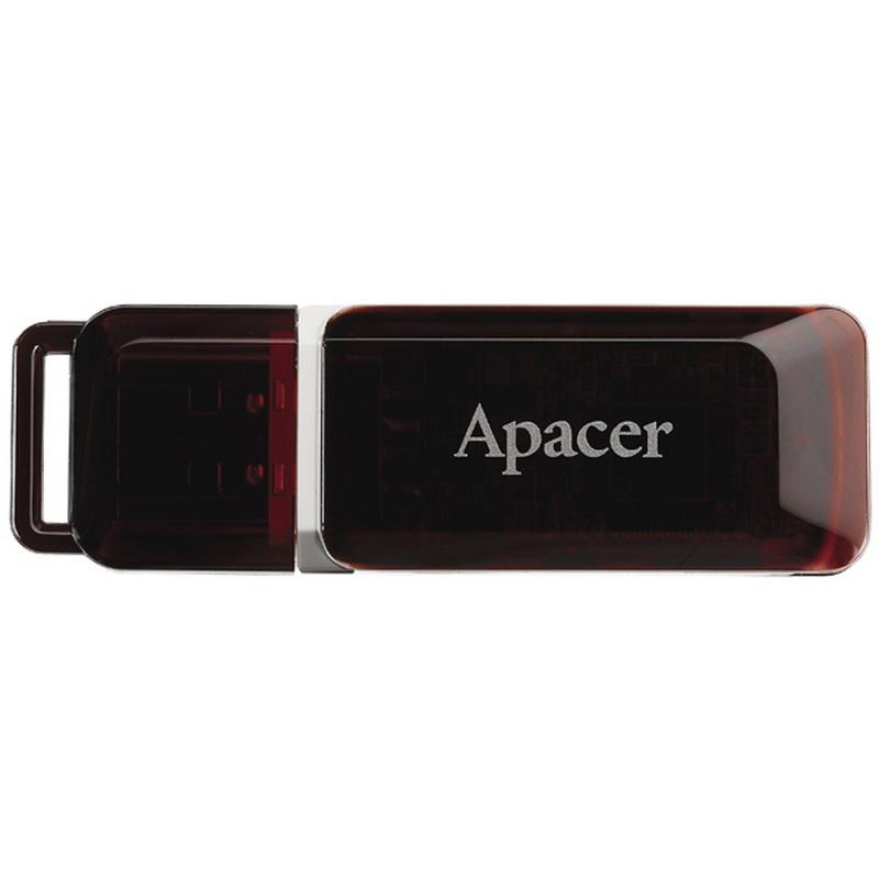 Купить Флешка USB Apacer AH321 16GB AP16GAH321R-1 Black