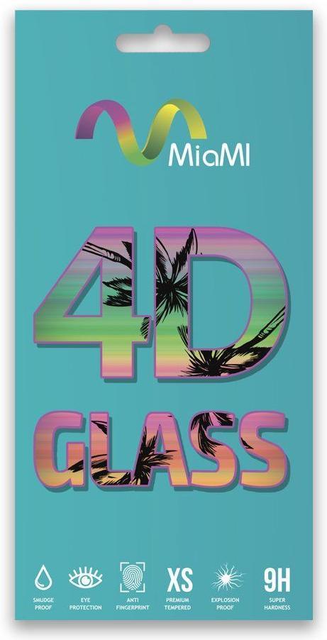 Купить Аксесуари для мобільних телефонів, Захисне скло MiaMI 4D for Huawei Y6 2019 - Full Glue Glass Black (00000009043)