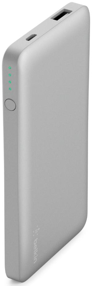 Купить Універсальні батареї Power Bank, Батарея універсальна Belkin Pocket Power 5K Power Bank 5000mAh Silver (F7U019BTSLV)