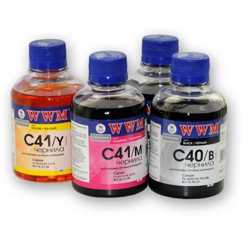 Купить Чорнило WWM C41/M Canon CL-41/51/CLI8/BCI-16 малинове