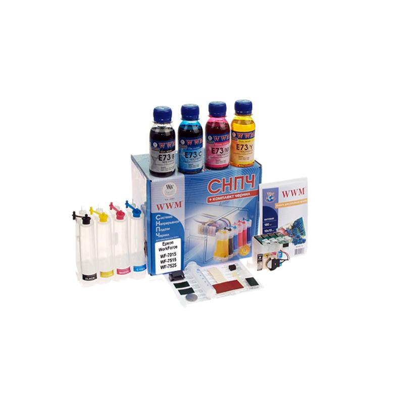 Купить Системи безперервної подачі чорнил, Система БПЧ WWM IS.0251B Epson WorkForce WF-7015, WF-7515, WF-7525