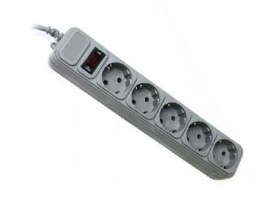 Купить Мережевий фільтр Gembird SPG5-G-6G 5/1.8