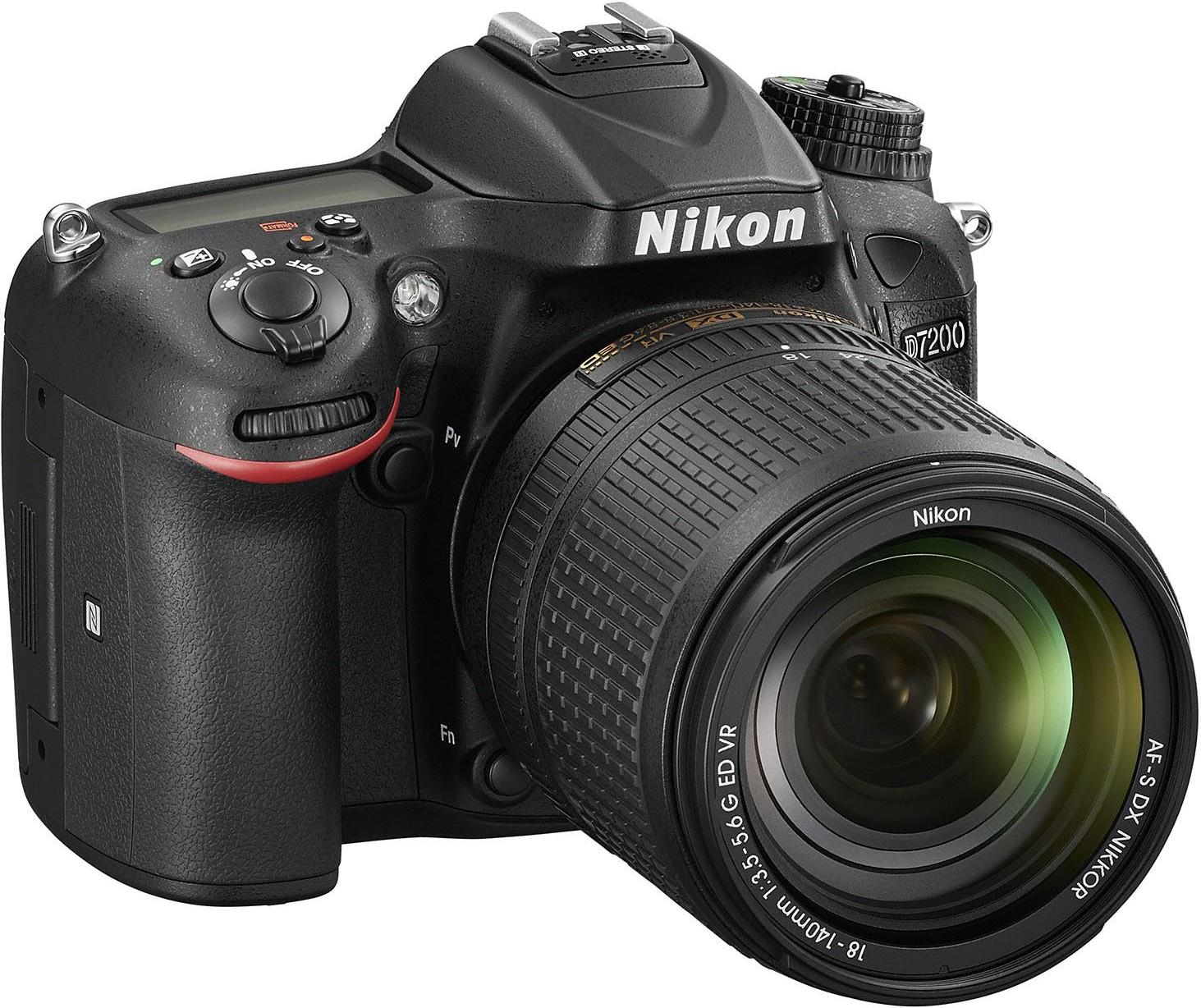 Купить Цифрова фотокамера дзеркальна Nikon D7200 kit 18-140 мм VR, VBA450K002