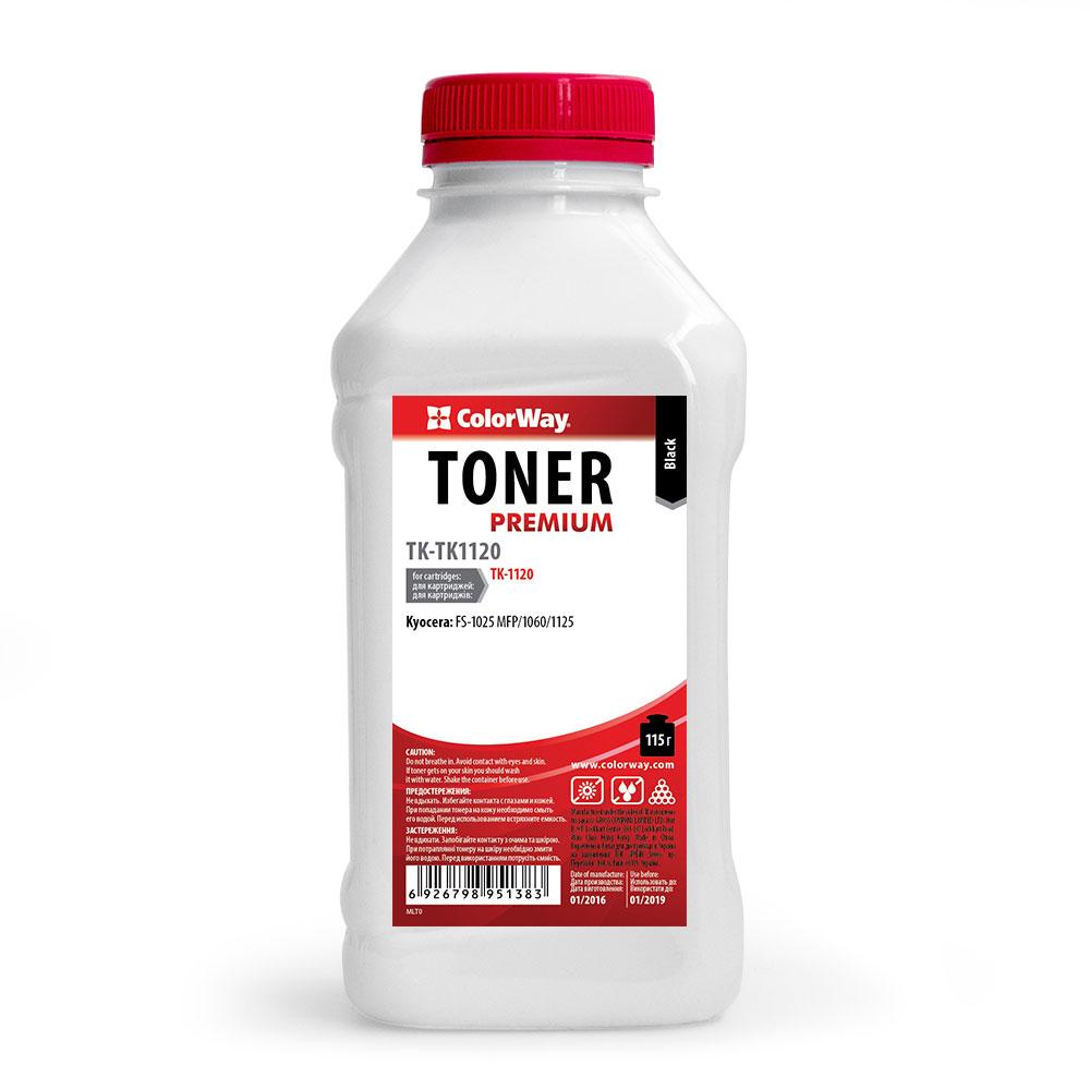 Купить Тонер ColorWay Kyocera TK-1120 чорний, TK-TK1120