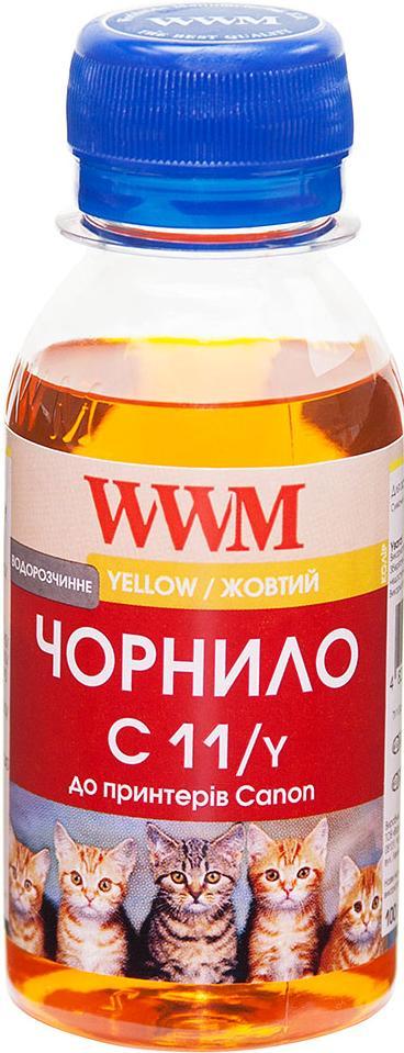 Чорнило WWM Canon CL-511С/CL-513С/CLI-521C жовте, C11/Y-2  - купить со скидкой