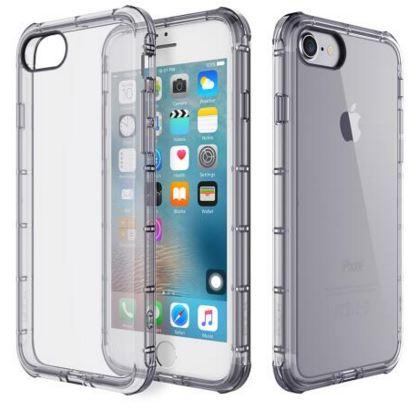Купить Аксесуари для мобільних телефонів, Чохол Rock для iPhone 7 - Fence series темний, Rock iPhone 7 TPU Dark