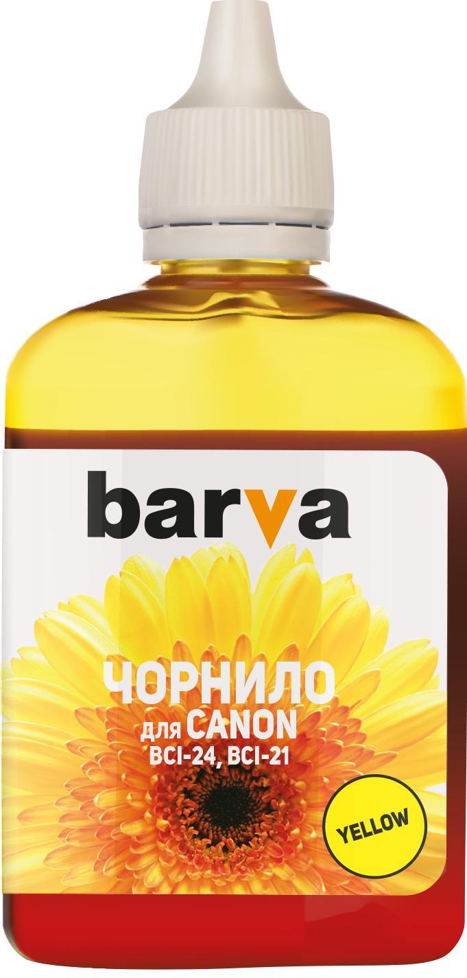 Купить Чорнило BARVA Canon BCI-24 жовте, I-BAR-CBCI24-090-Y