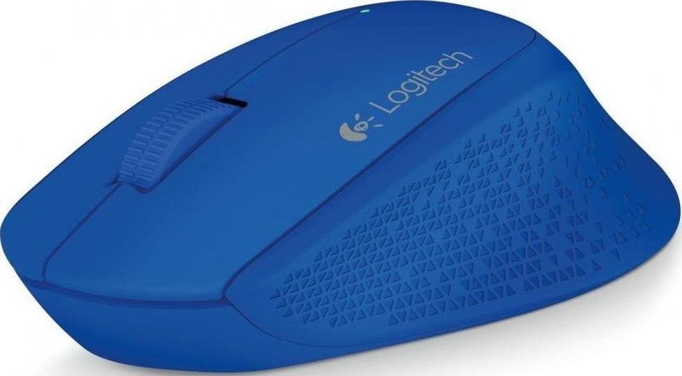 Мишка Logitech M280 синя, 910-004290  - купить со скидкой