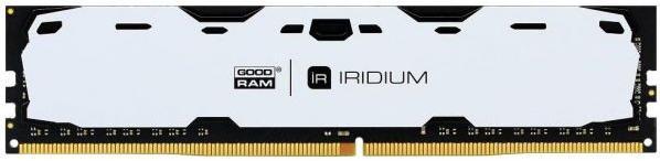 Купить Пам'ять GoodRam Iridium White DDR4 1x4 ГБ (IR-W2400D464L15S/4G)