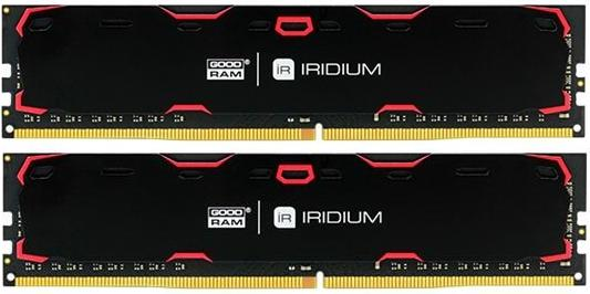 Купить Пам'ять GoodRam Iridium Black DDR4 2x4 ГБ (IR-2400D464L15S/8GDC)
