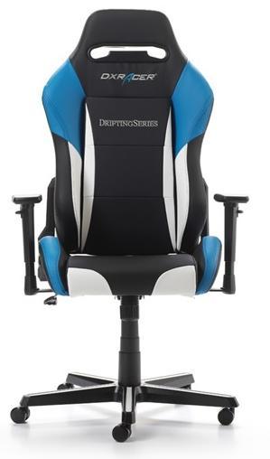 Купить Крісло DXRACER DRIFTING OH DM61 NWE Black White Blue (OH/DM61/NWB)