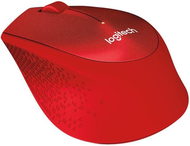 Купить Миша Logitech M330 Silent Plus 910-004911 Red