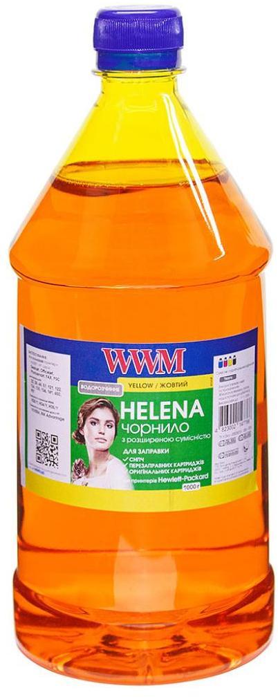 Купить Чорнило WWM HU/Y-4 HP Universal HELENA (1000g) Yellow
