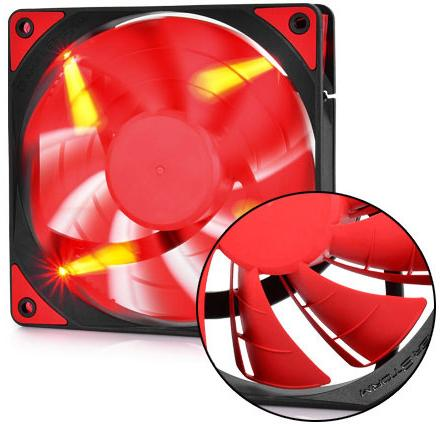 Купить Вентилятор для корпуса Deepcool TF120 Red
