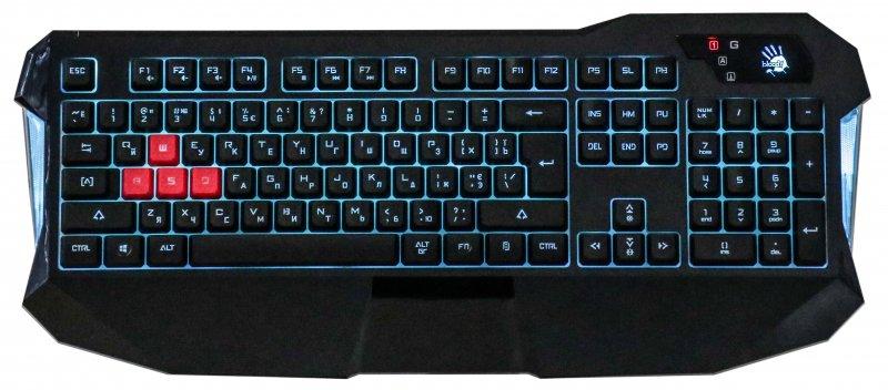 Купить Клавіатура A4tech Bloody B130 Black (B130 Bloody (Black))
