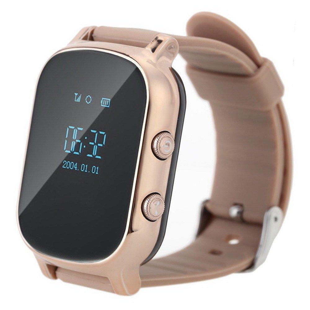 Купить Смарт годинник GOGPS.ME K20 with SIM Kyivstar and GPS Gold (K20GD)