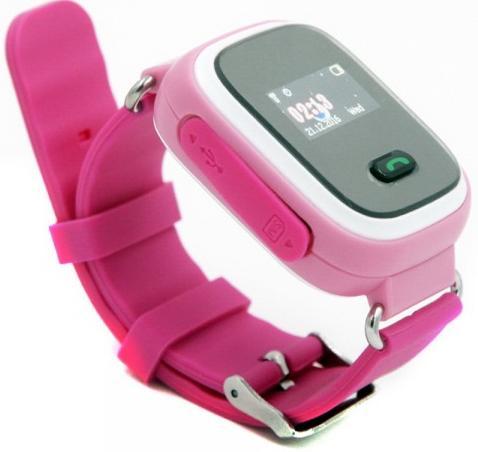Купить Смарт годинник GOGPS.ME K11 with SIM Kyivstar and GPS Pink (K11PK)