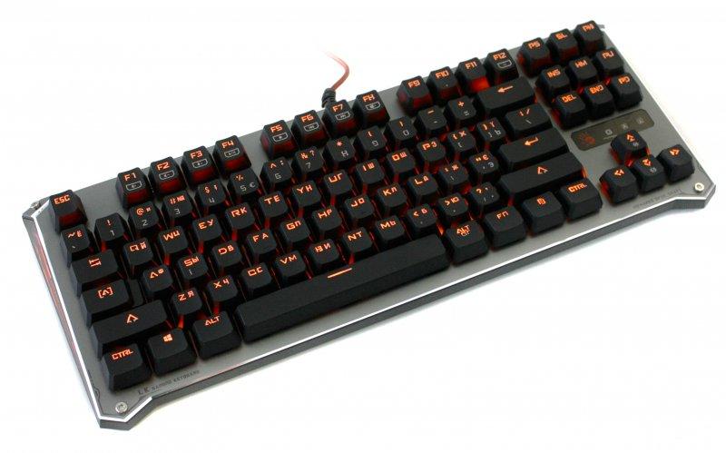 Купить Клавіатура A4tech Bloody B830 Grey (B830 Bloody (Grey))