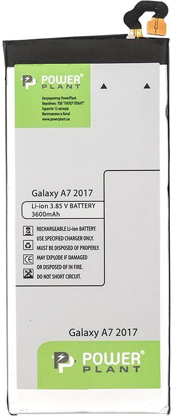 Купить Аксесуари для мобільних телефонів, Акумулятор PowerPlant for Samsung Galaxy A7 2017 (SM170401)