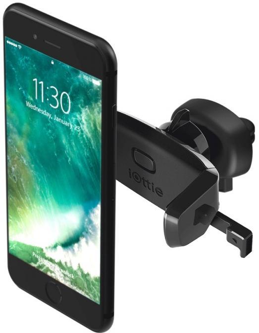 Купить Кріплення для мобільного телефону iOttie Easy One Touch Mini Vent Mount Universal Car Mount Holder Cradle Black (HLCRIO124)