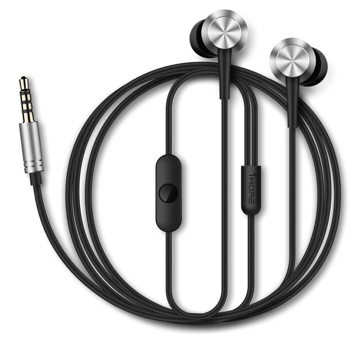 Навушники та гарнітури, Гарнітура 1more Piston Fit Silver (360029)  - купить со скидкой