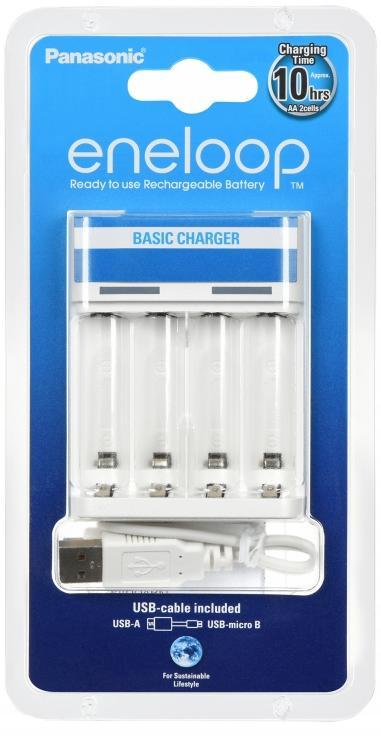 Купить Зарядний пристрій Panasonic Basic USB Charger (BQ-CC61USB)