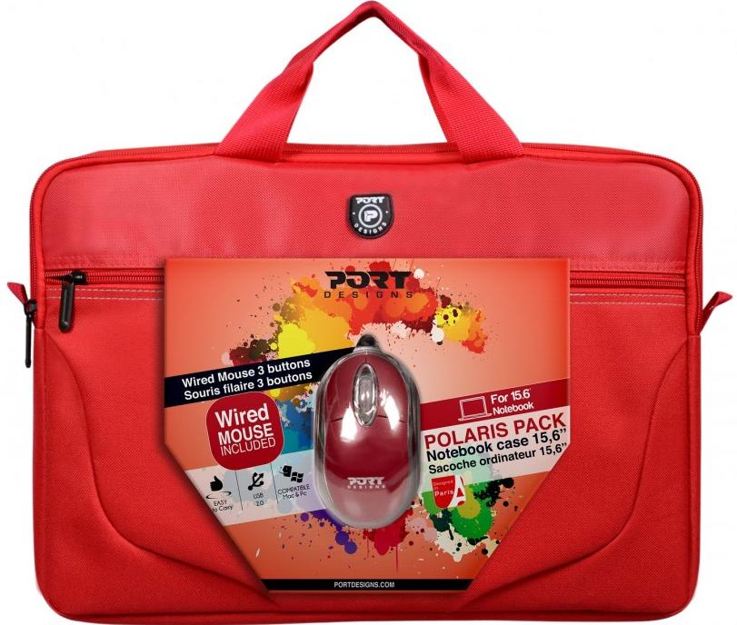 Купить Сумка для ноутбука Port Design Polaris Bandle Red, 501770, PORT DESIGNS