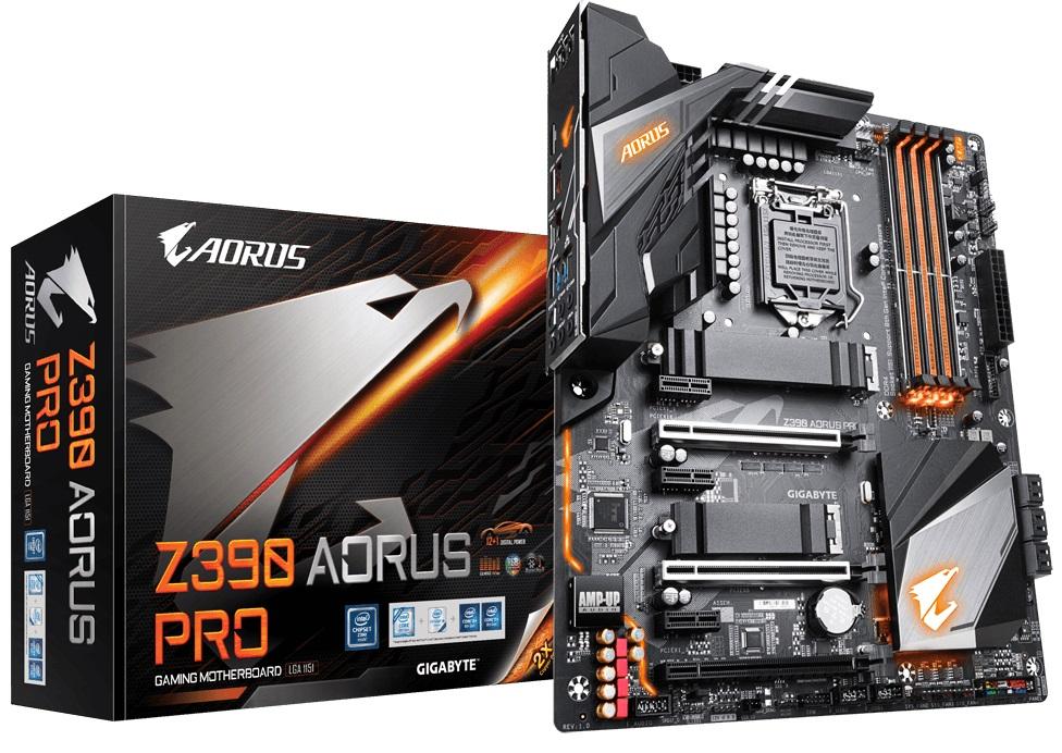Купить Материнська плата Gigabyte Z390 Aorus Pro (Z390 AORUS PRO)