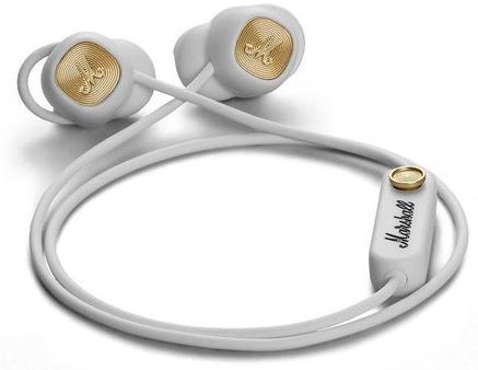 Купить Навушники та гарнітури, Гарнітура Marshall Minor II Bluetooth White (4092261)