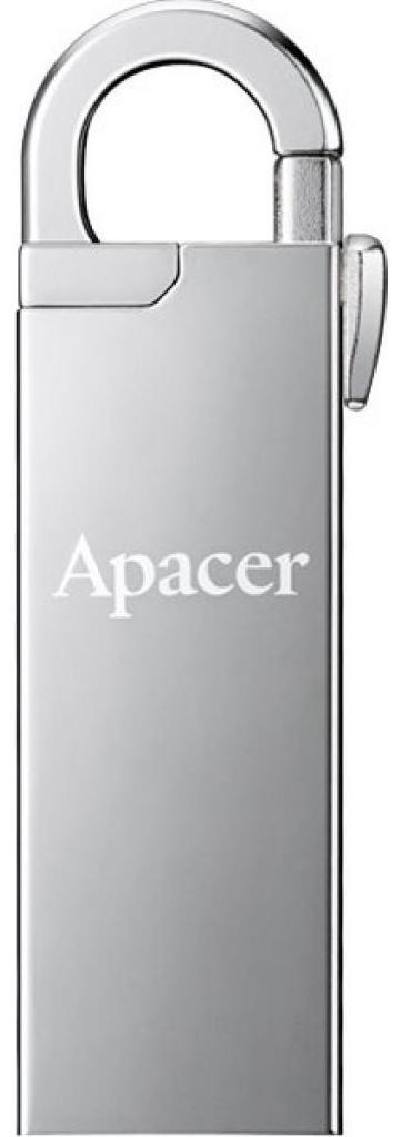 Купить Флешка USB Apacer AH13A 16GB AP16GAH13AS-1 Silver