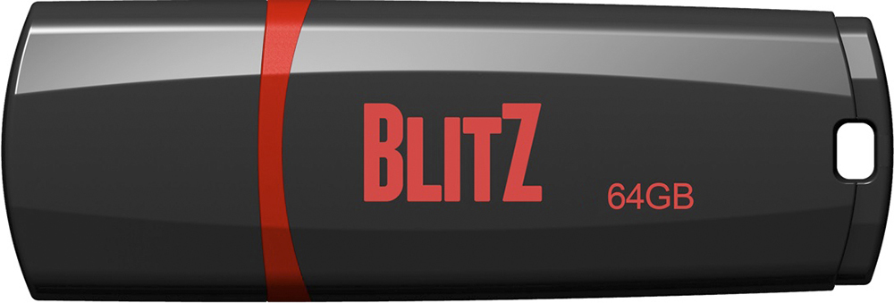 Купить Флешка USB Patriot Blitz 64GB PSF64GBLZ3BUSB Black