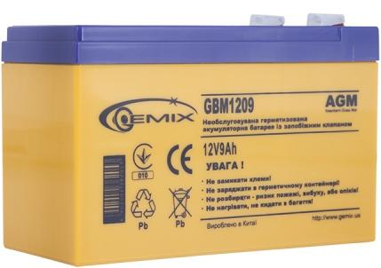 Купить Батарея для ПБЖ Gemix GBM1209/ 12V 9Ah