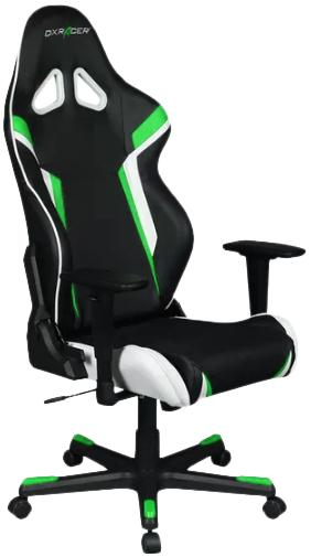 Купить Крісло DXRACER Racing OH/RZ288/NEW Black/Green/White