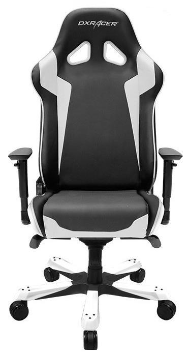 Кресло DXRACER SENTINEL Black/ White (OH/SJ00/NW)