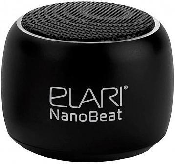 Купить Акустичні системи, Портативна акустика Elari Nanobeat Black (ELNB1BLK)