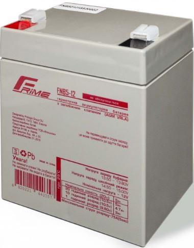 Купить Батареї для ПБЖ (UPS), Батарея для ПБЖ Frime FNB5-12 AGM