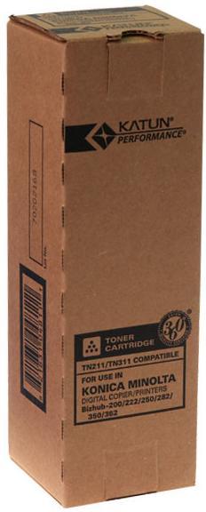 Купить Тонер Katun for Konica Minolta Bizhub 250 аналог TN-211 Black туба, 37020/30176