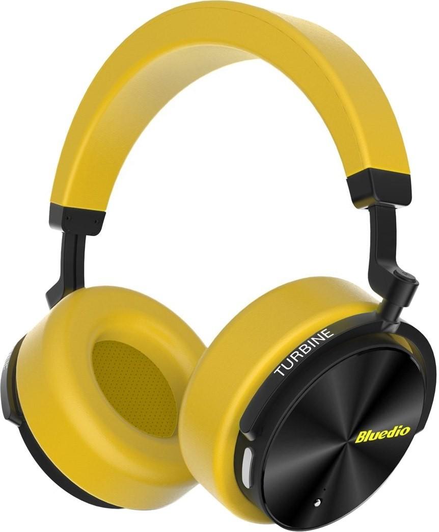 Купить Навушники та гарнітури, Гарнітура Bluedio T5 Yellow