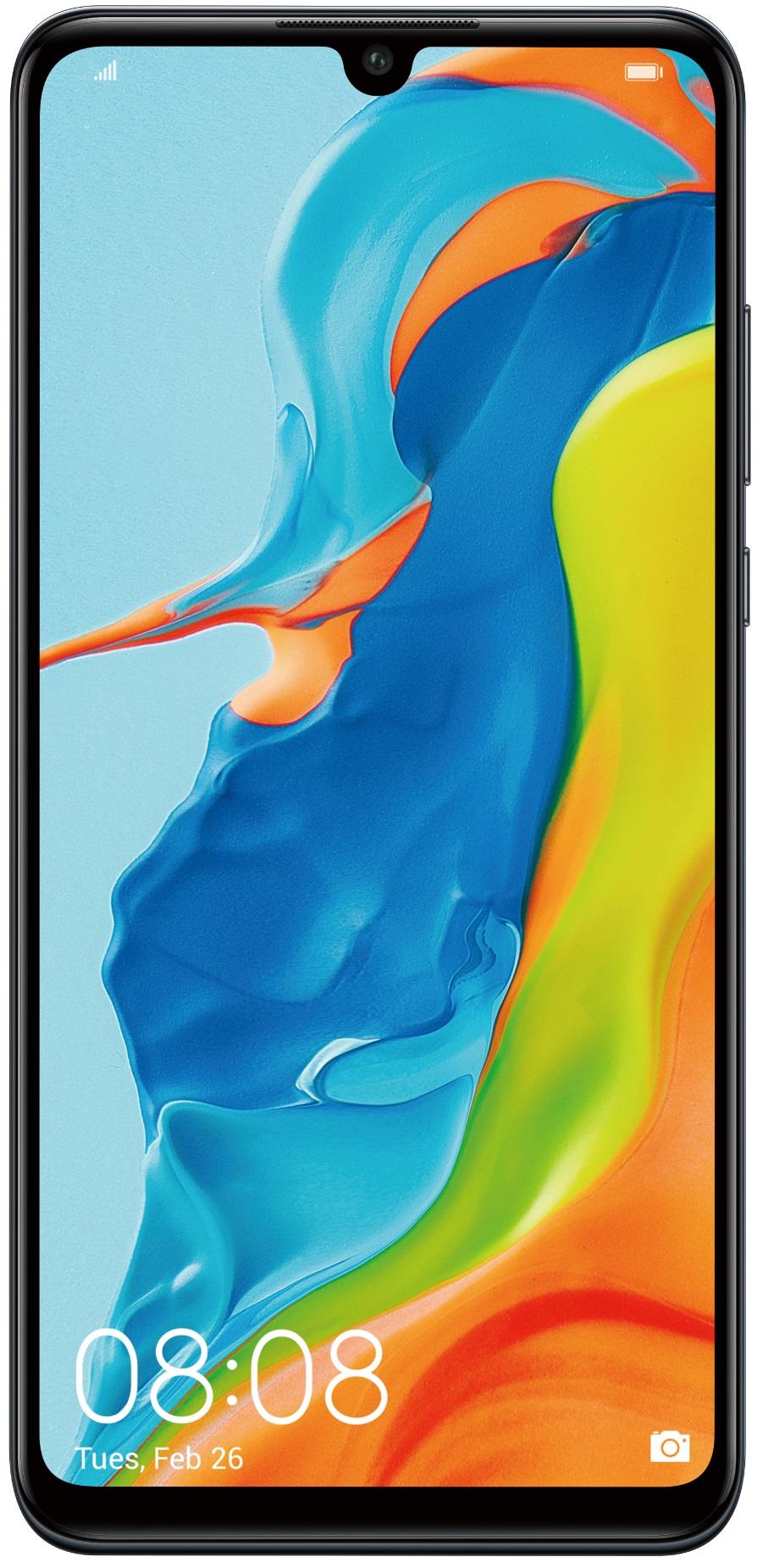 Купить Мобільні телефони, Смартфон Huawei P30 Lite 4/64GB Black ( 51094VBT)