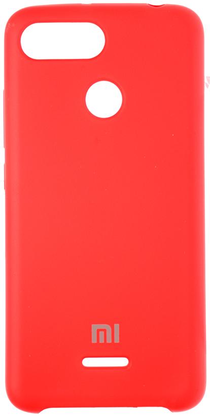 Чохол HiC for Xiaomi Redmi 6 - Silicone Case Red  (SCXR6-14)