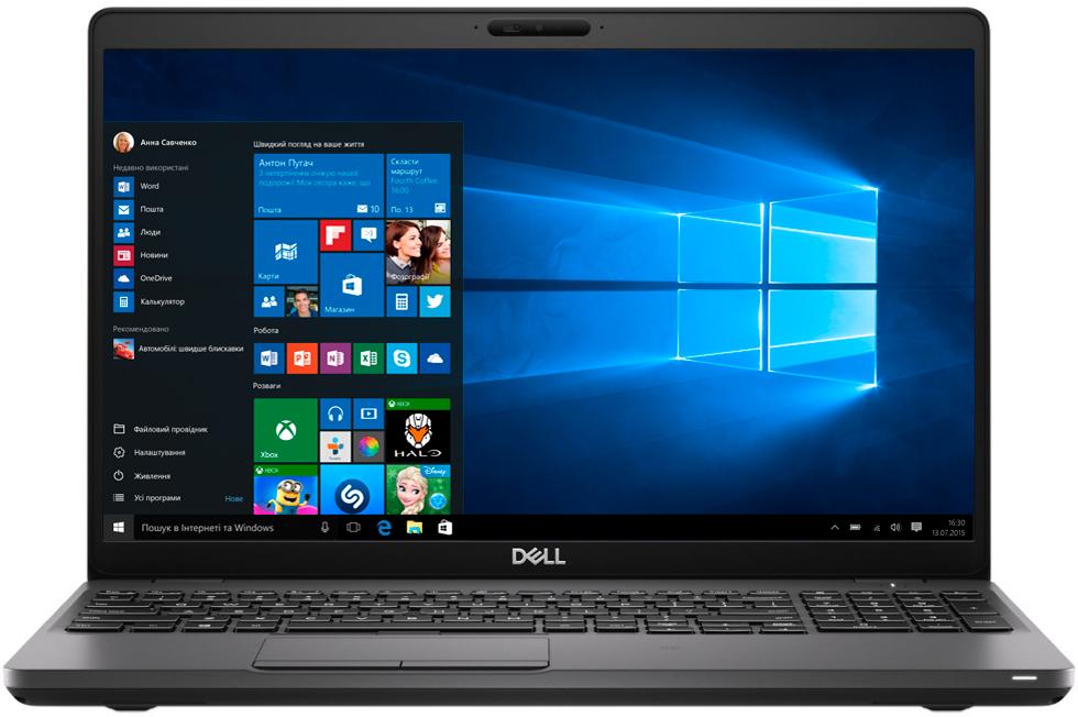 Купить Ноутбуки, Ноутбук Dell Latitude 5500 N025L550015ERC_W10 Black