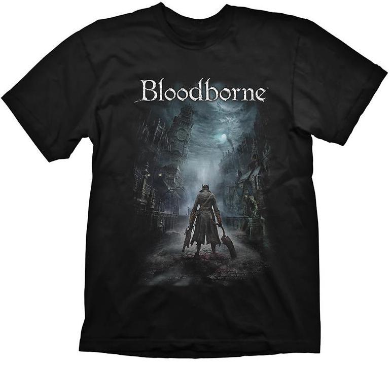 Купить Геймерський одяг, Футболка GAYA Bloodborne Night Street Size L, GE1712L