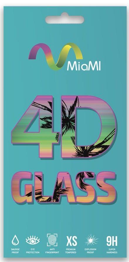 Купить Аксесуари для мобільних телефонів, Захисне скло MiaMI 4D for Xiaomi Mi Play - Full Glue Glass Black (00000010103)