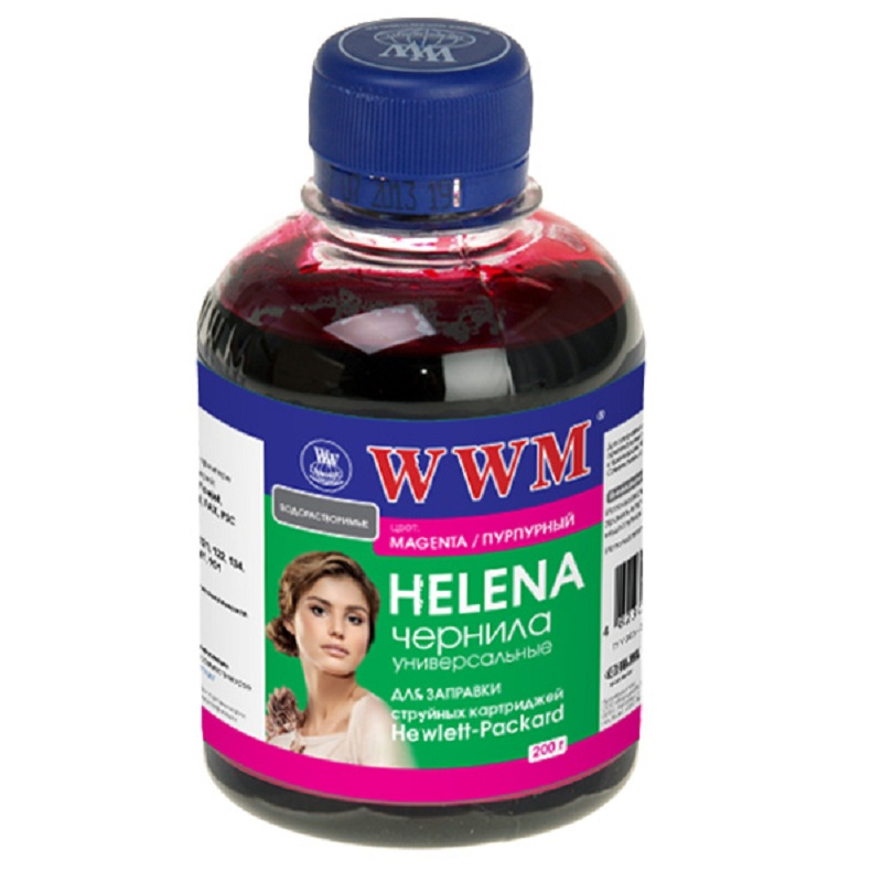 Купить Чорнило WWM HU/M HP HELENA Universal малинове, HU/M_200g