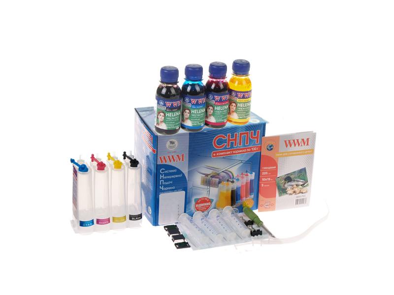 Купить Система БПЧ WWM IS.0405U HP Deskjet 3320, 3323, 3325, 3420, 3420v, 3425