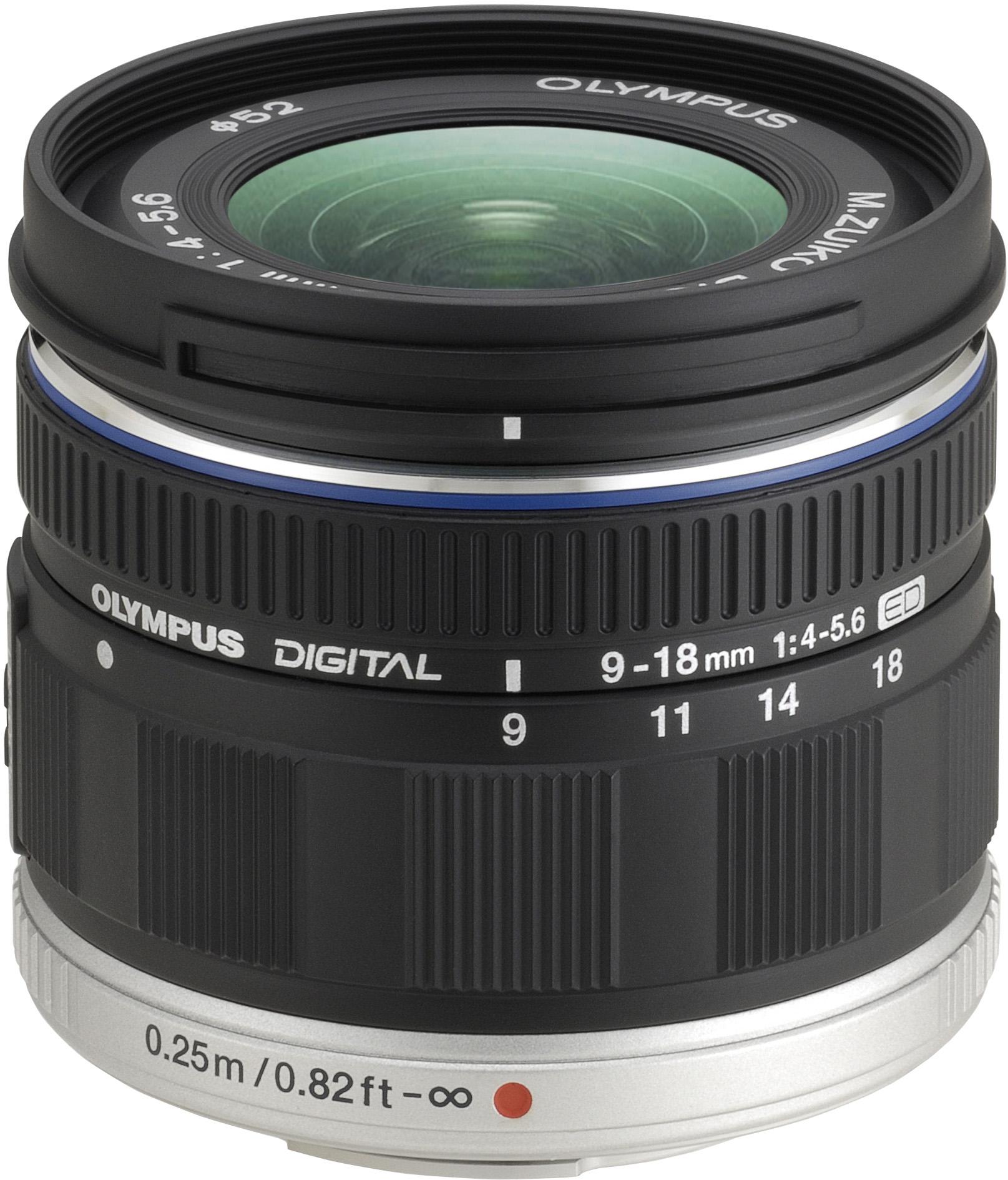 Купить Об'єктив Olympus EZ-M918 ED 9-18mmf/1:4.0-5.6 чорний, N3850192