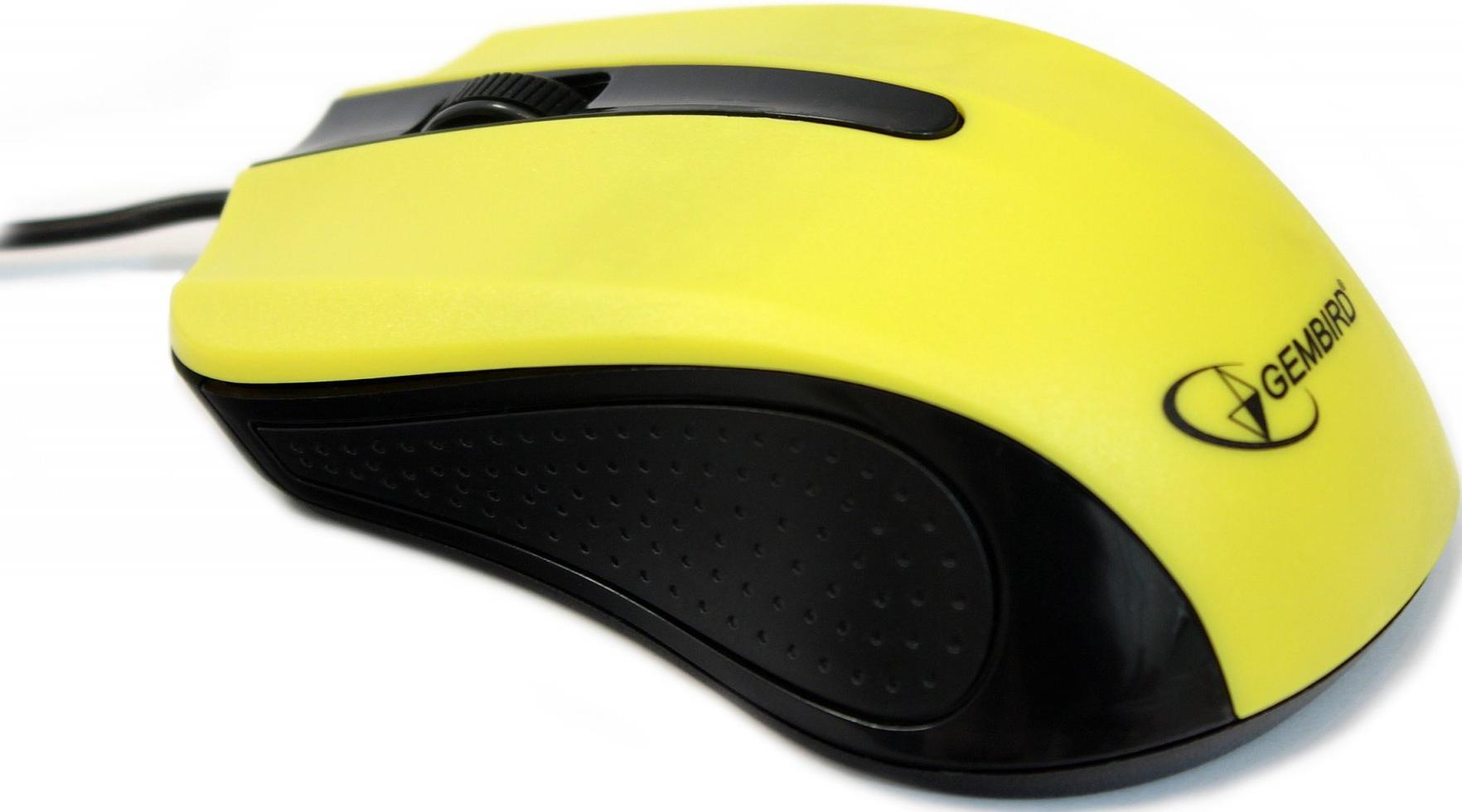 Купить Мишка Gembird MUS-101-Y жовта