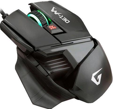 Купить Мишка Gemix W130 USB чорна