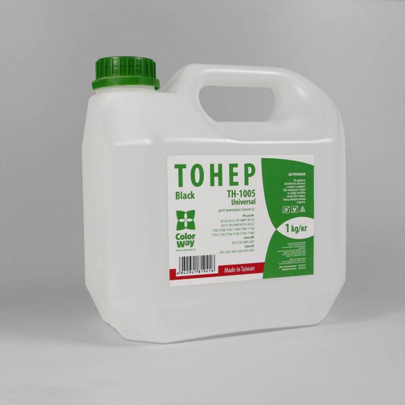 Купить Тонер Colorway TH-1005-1 HP LJ P1005, P1505 чорний, TH-1005-1B
